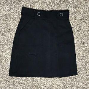 [H&M] Black Skirt